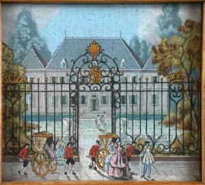 chateau Larreguienea XVIII S - chaises porteur ou vinaigrettes