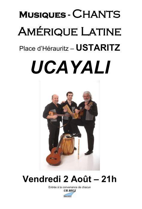 affiche Ucayali 2 août